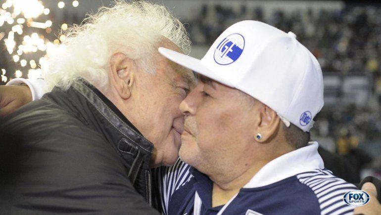 Maradona y su emotivo reencuentro con Coppola