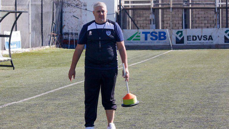 Primera práctica de Sergio Priseajniuc en el Albinegro