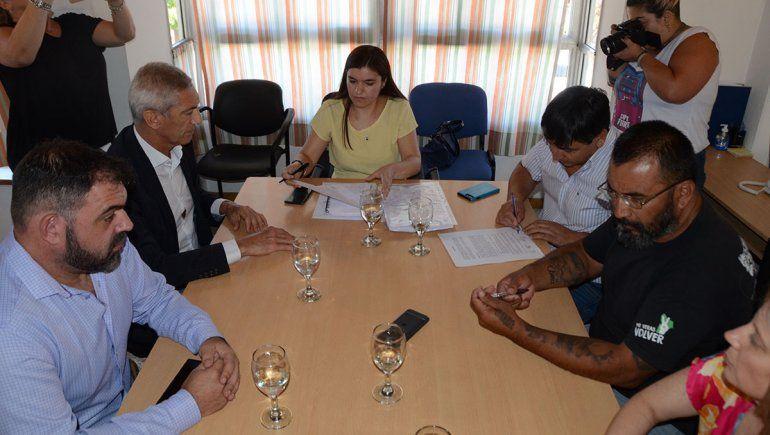 ATE y el Gobierno firmaron el acuerdo paritario hasta julio.
