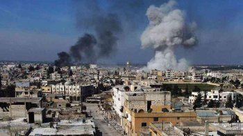 aumento la tension en el noroeste sirio