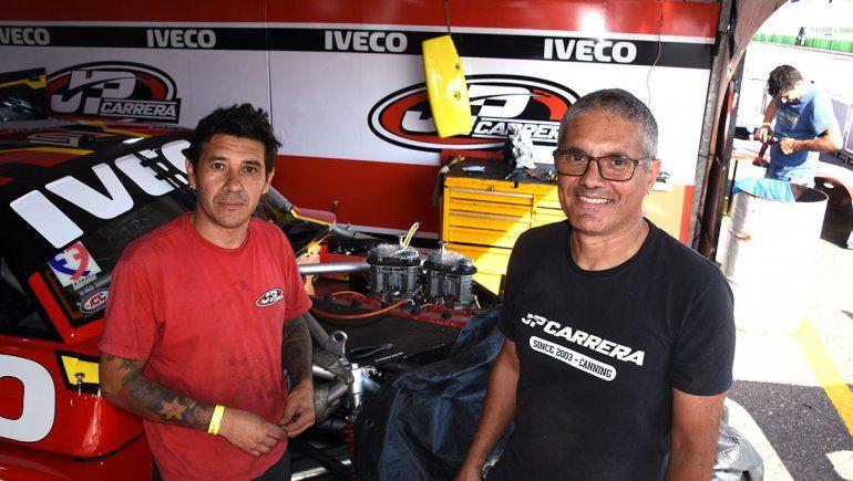 Turismo Carretera: Guillermo Gauto y Fabián Rodríguez, el apoyo del Manu.