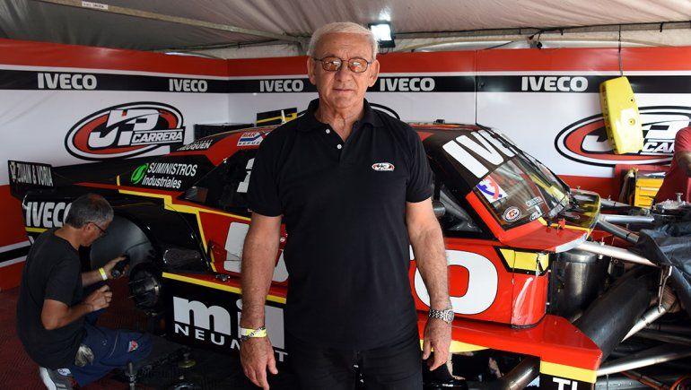 Guillermo Kissling, ingeniero del auto del Manu Urcera, confía en las mejoras para esta carrera del Turismo Carretera.