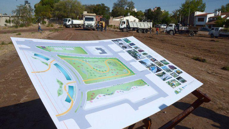 El predio de la ex U9 será un parque verde sin edificios