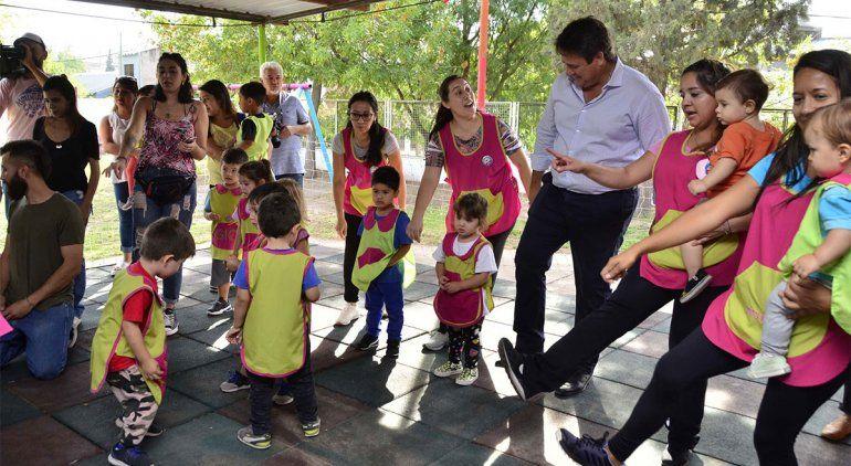 Iniciaron las clases en cuatro jardines municipales