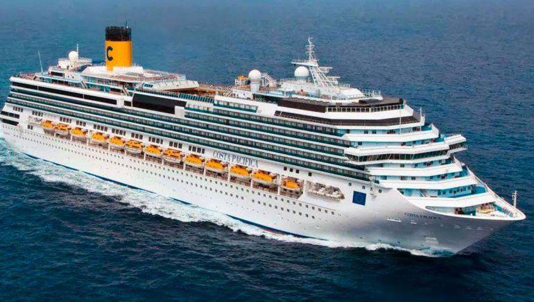 El crucero Costa Pacífico.