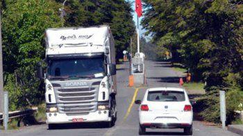 camiones extranjeros solo podran ingresar a neuquen a la noche