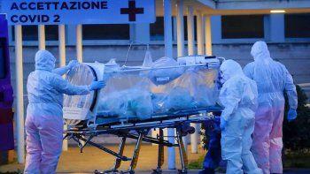 italia registro un nuevo record de victimas y supero las 9 mil muertes