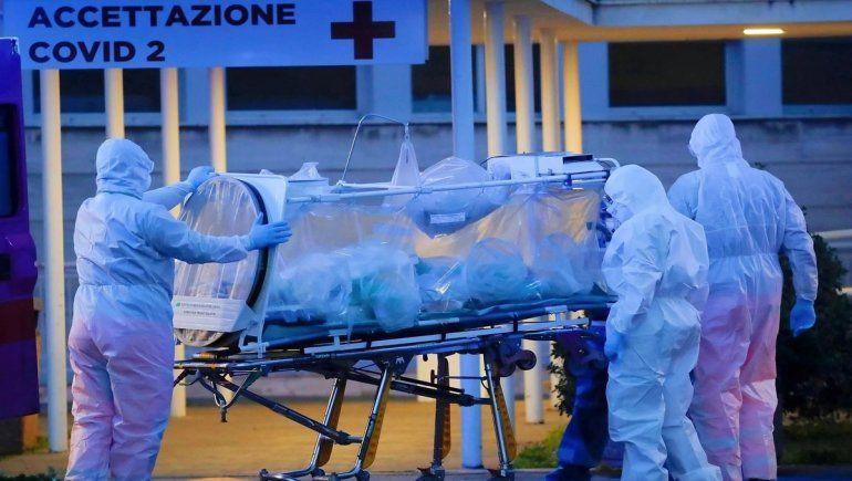 Italia registró el mayor número de muertos por coronavirus.