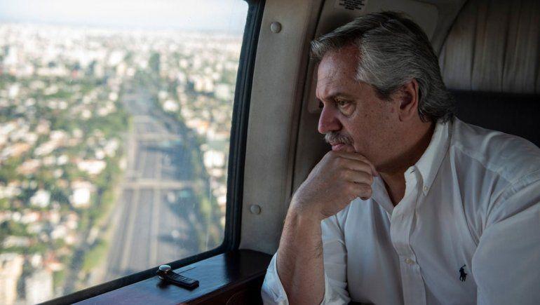 Alberto Fernández: Al que circule sin permiso lo vamos a detener y sacar el auto