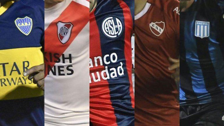 Ideal para ver en cuarentena: los mejores goles de los equipos grandes del país