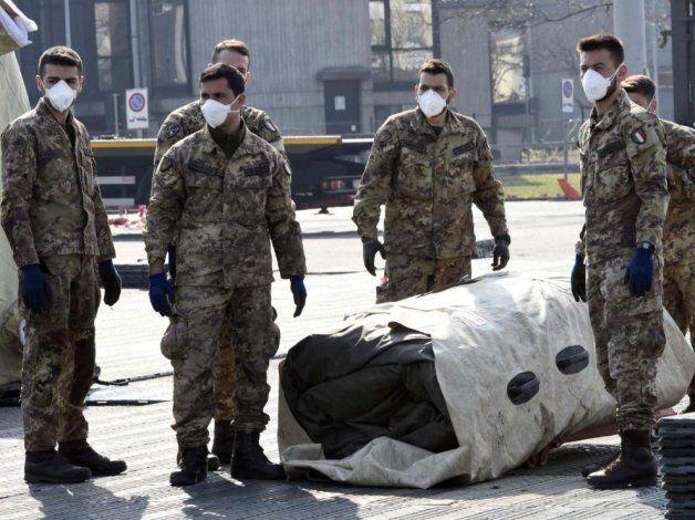 Italia se prepara para afrontar el pico máximo de contagiados.