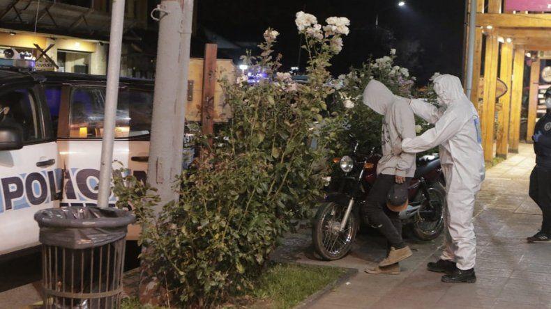 San Martín: rompieron la cuarenta, los detuvieron y les descubrieron drogas