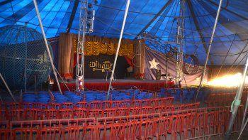 un circo quedo varado en medio de la pandemia