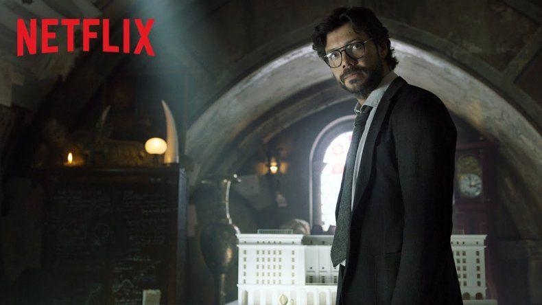 Netflix sorprende con nuevo tráiler de La casa de papel
