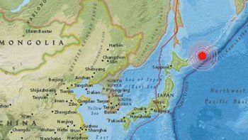 un terromoto de 7,5 sacudio una isla rusa y alertaron por un tsunami