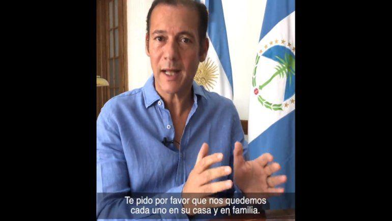 El mensaje de Gutiérrez en las redes: Vamos a seguir tomando medidas para cuidarnos