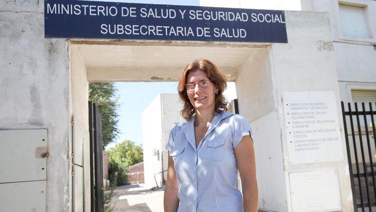 Melina Mazzeo, directora Laboratorio Central de Neuquén.