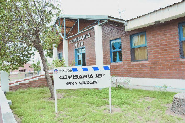 En el hecho intervino personal de la Comisaría 18 de Neuquén.