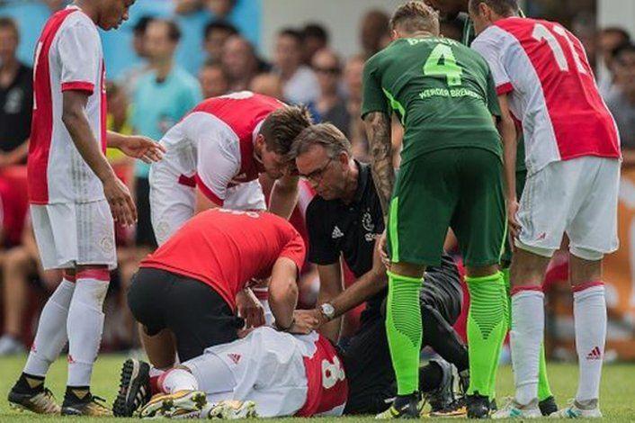 El jugador del Ajax que despertó del coma después de tres años