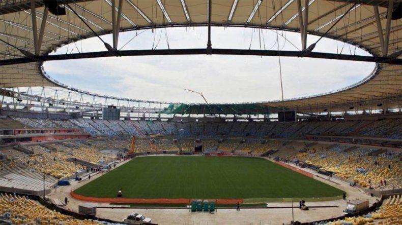 El Maracaná será un hospital de campaña en Brasil