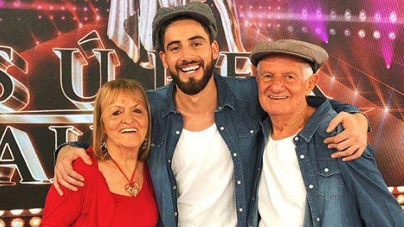 La abuela de Nico Occhiato fue viral por conquistar a Arjona