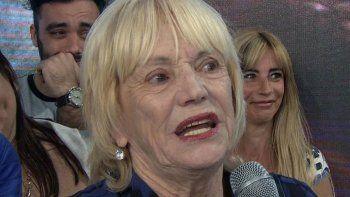 Dora, la mamá de Yanina Latorre, otra vez envuelta en una polémica.