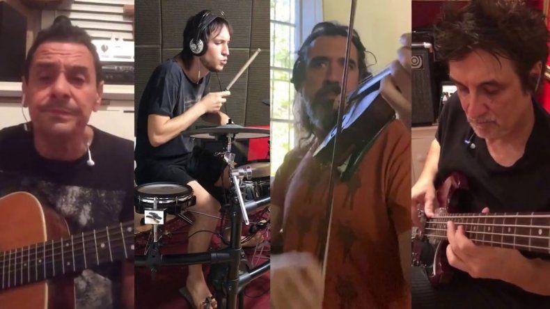 Divididos sonó con un Bajofondo a través de Facebook