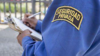 coronavirus: trabajadores de la seguridad ofrecen sus servicios