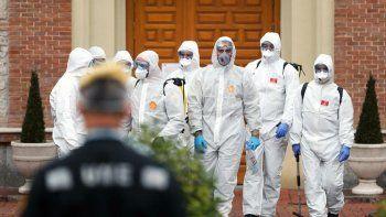 espana y un record espantoso: 832 muertes en 24 horas