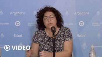 vizzotti anuncio la llegada de 31 mil reactivos para descentralizar el diagnostico