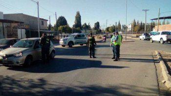 cutral co y plaza huincul: casi 60 detenidos y mas de 20 autos secuestrados