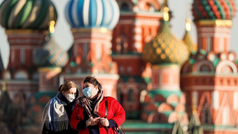 Los rusos también se sumaron a los países en cuarentena