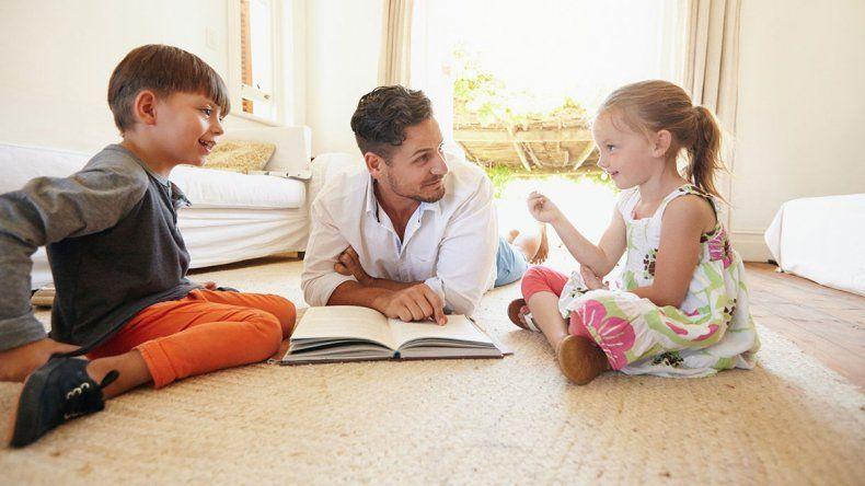 Cómo tiene que ser la rutina de los niños y qué actividades hacer con ellos
