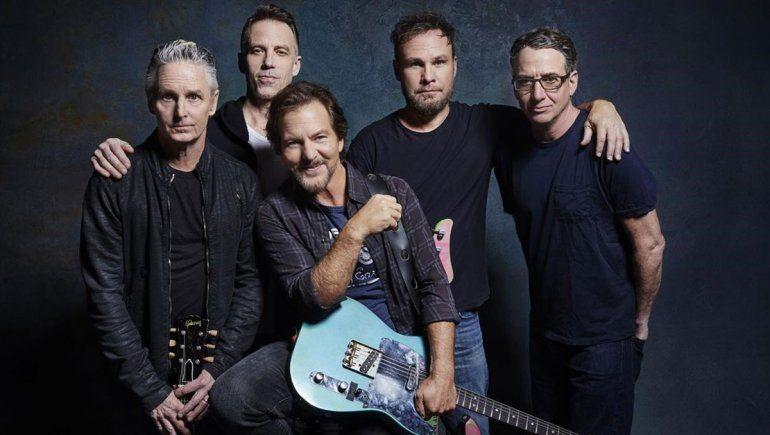 Pearl Jam castiga duro a Trump con Gigaton