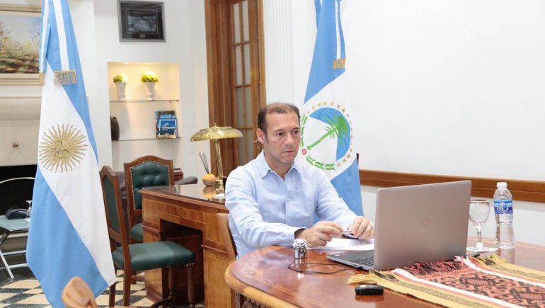 Gutiérrez participa de la teleconferencia con el Presidente