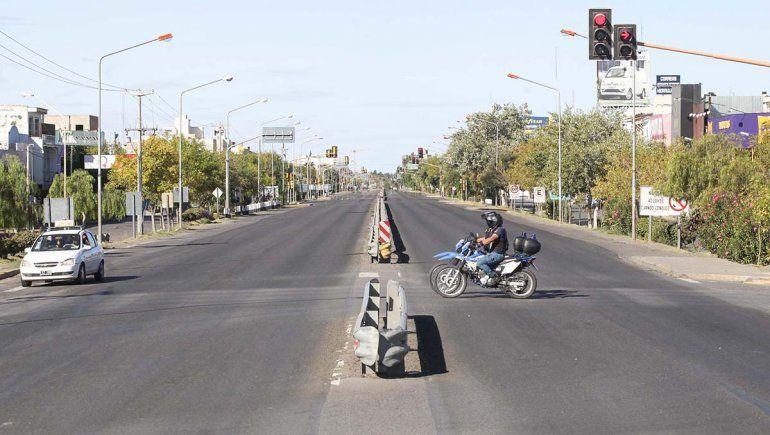 Hubo acatamiento casi total a la circulación cero en Neuquén