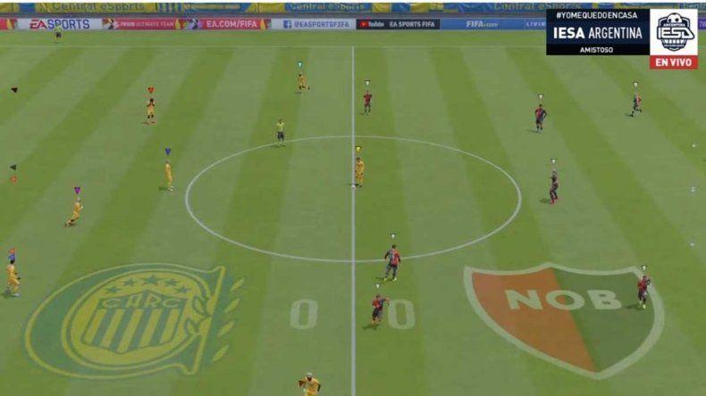 Central le ganó a Newells el partido virtual más visto del mundo