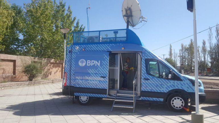 El BPN llevará un cajero automático móvil a los barrios
