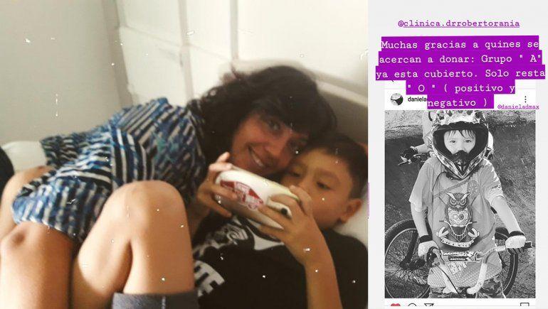 La mamá de Máximo: Gracias por animarse, cada gotita de sangre es vida para mi hijo