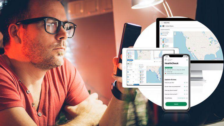 Una app que ayuda a las empresas a cuidar a los trabajores del coronavirus