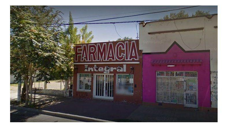 Plottier: asaltaron a una empleada de una farmacia