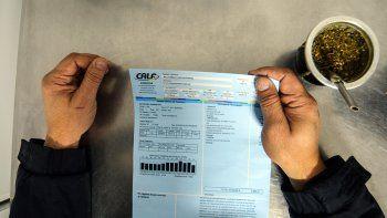 este mes, la luz, el gas y el agua se pagan por internet