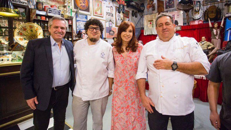 El cocinero presidencial que ama Las Grutas: Alberto es una persona muy sencilla
