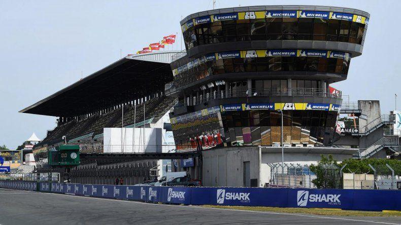 El Gran Prix de Francia se iba a disputar el 17 de mayo en el circuito de Le Mans
