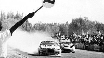 Traverso vivió uno de los momentos más espectaculares de la historia del automovilismo argentino.