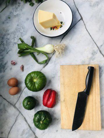Receta de tortilla de zapallitos: ingredientes