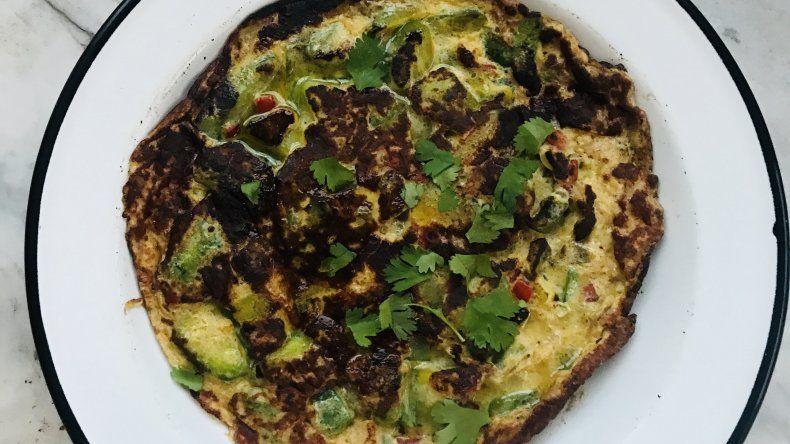 #Yomequedoencasa: sabrosa, efectiva y sencilla tortilla de zapallitos