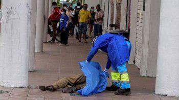 en ecuador aparecen cuerpos tirados en las calles