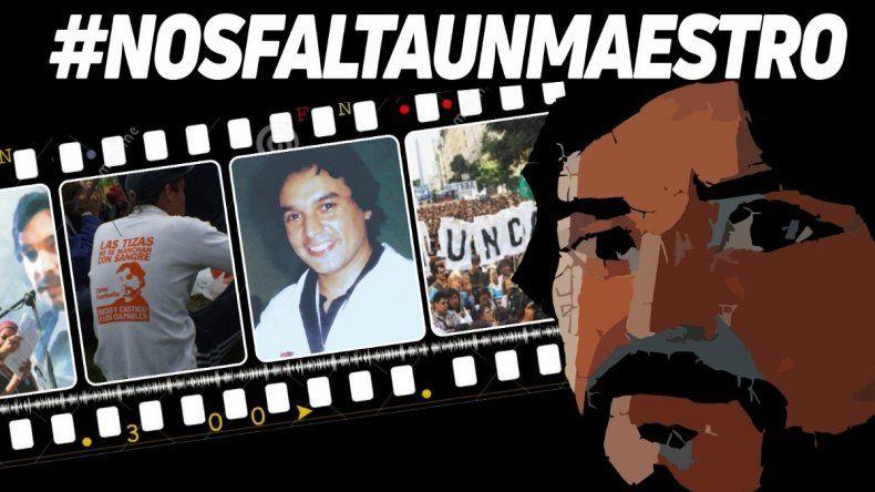 Homenajes virtuales al cumplirse 13 años del asesinato de Carlos Fuentealba