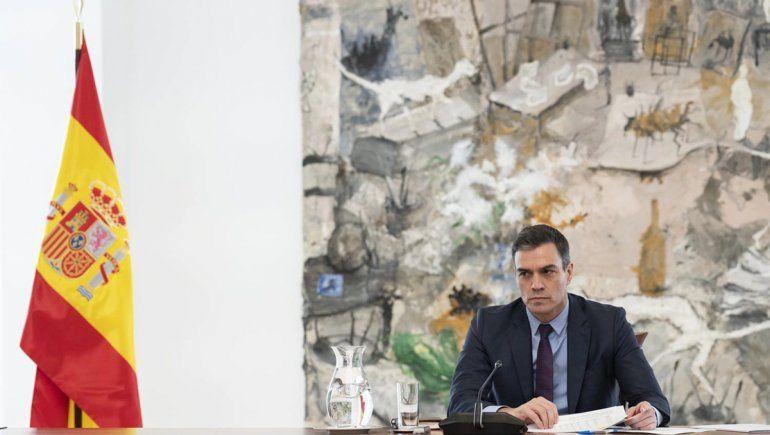 Pedro Sánchez, presidente de España, el segundo país con más muertos e infectados por el coronavirus.